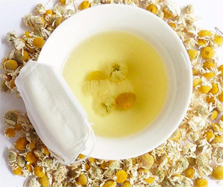 можно ли ромашковый чай при ротовирусе